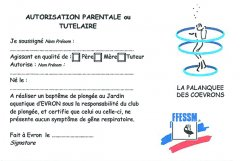 Autorisation parentale